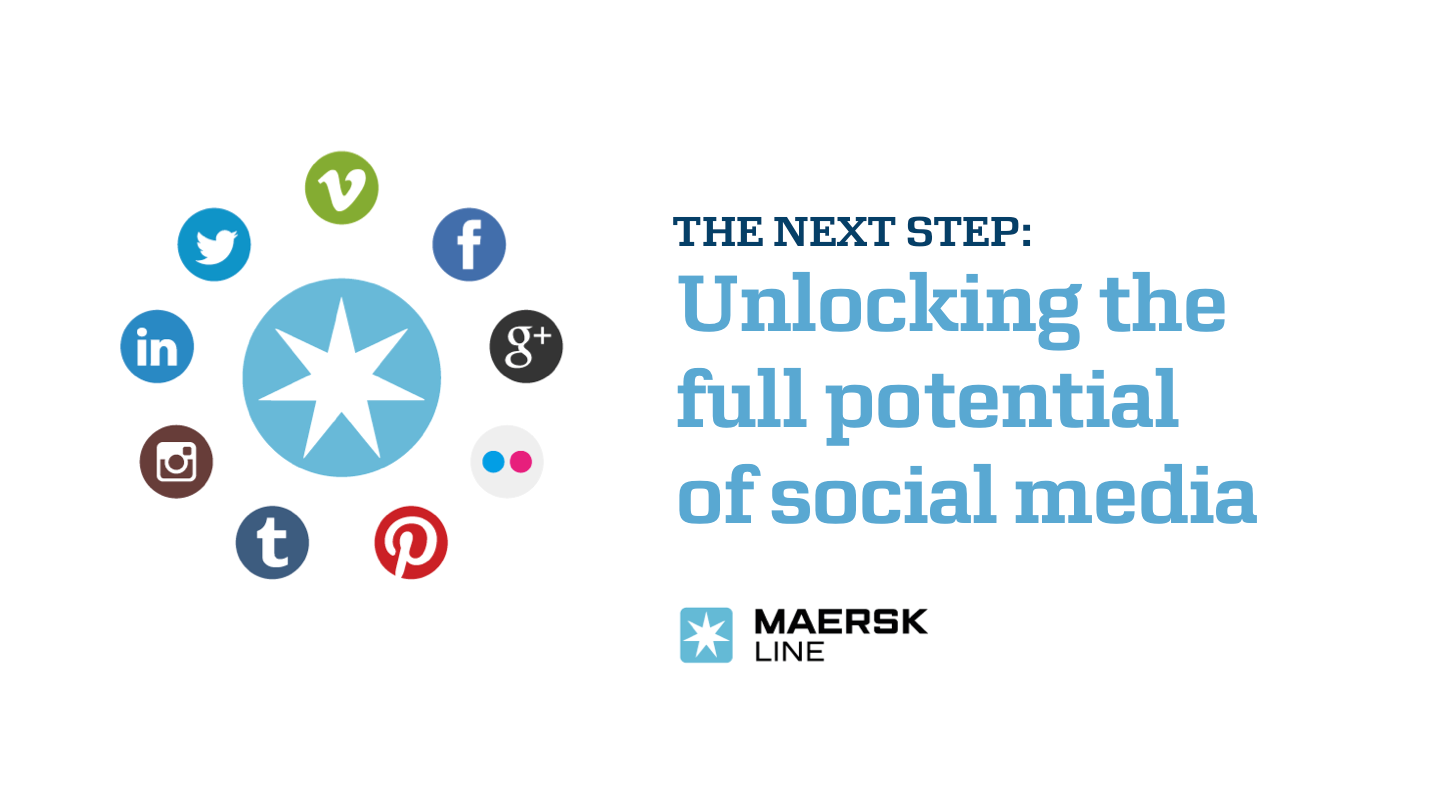 Maersk Line in social media – the case in brief -