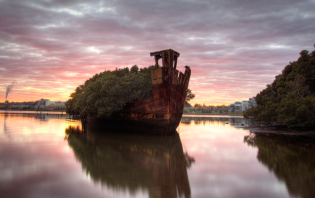 shipwreck homebush bay