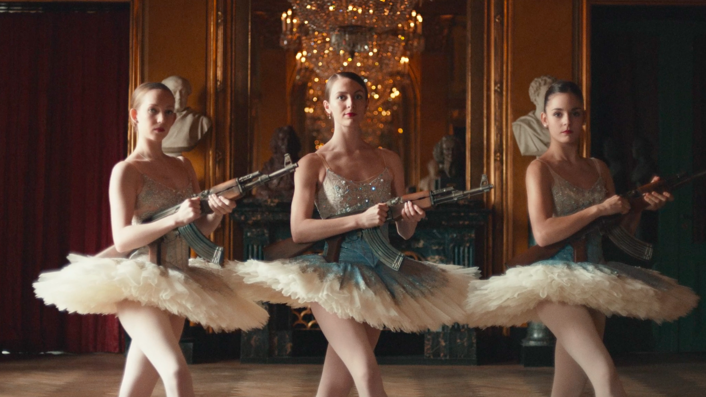 Girls With Guns: This Is Probably The Best Opera-Ballet-Theatre Mash-up TV Ad You Will Ever See