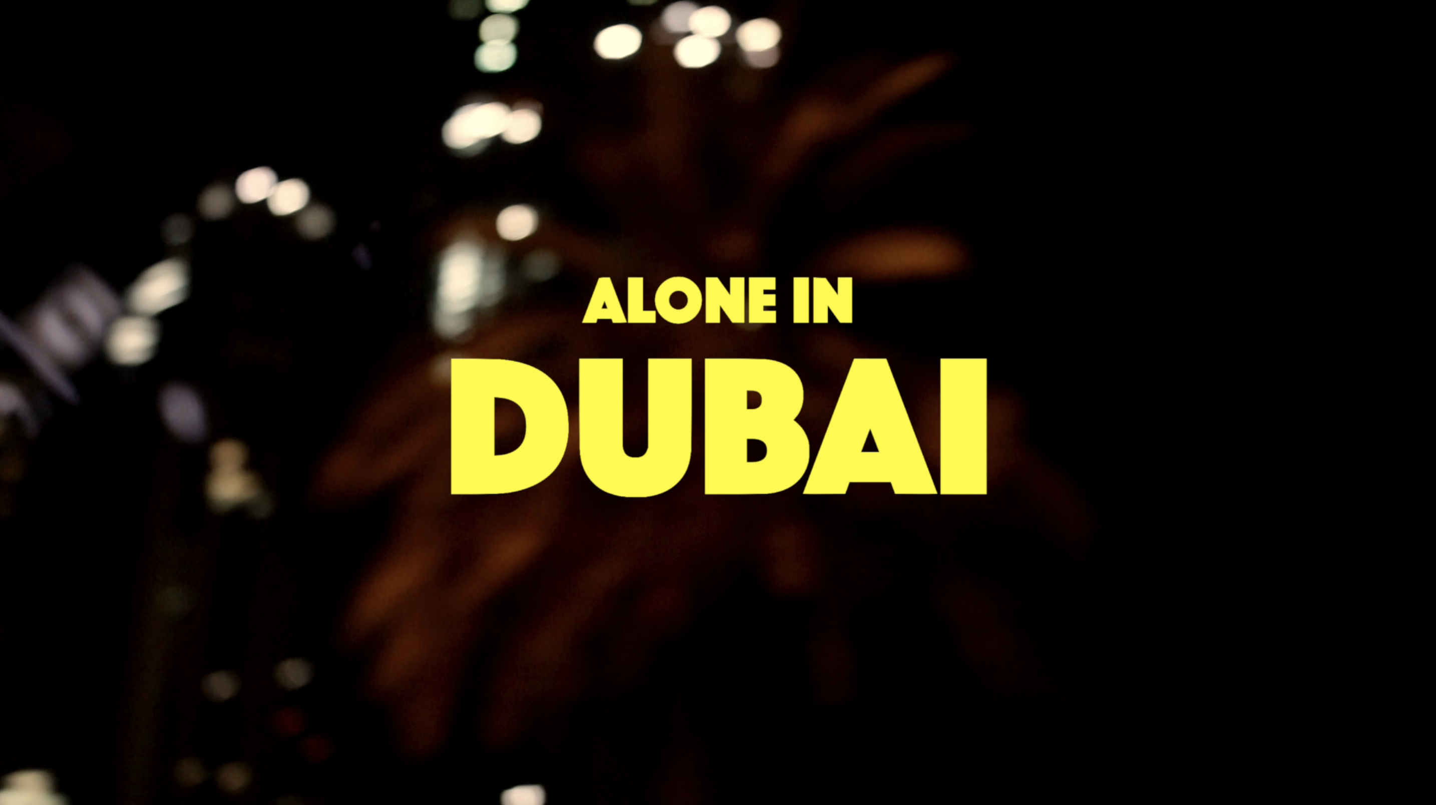 A miracle or a disaster? I just made this short documentary from my recent trip to Dubai.