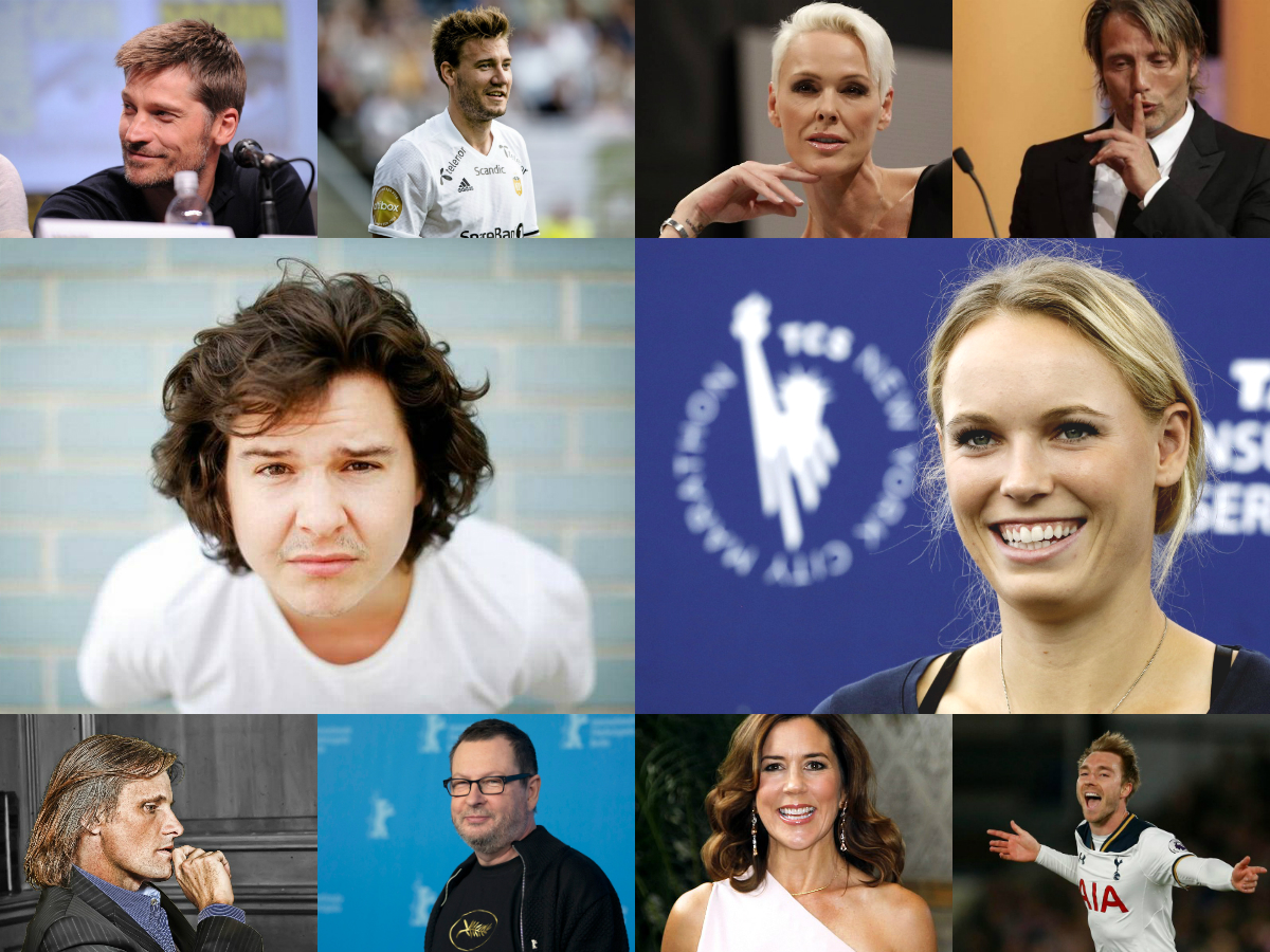 Top 10: Most Famous Danes in 2017