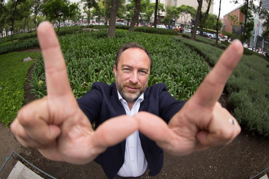 Wikipedia founder Jimmy Wales talks clickbait, fake news, the information wars and how to fix a broken internet